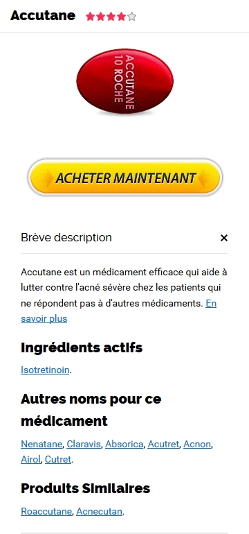 Prix Accutane 20 mg En France