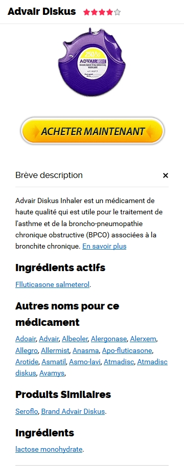 Advair Diskus 500 mcg France