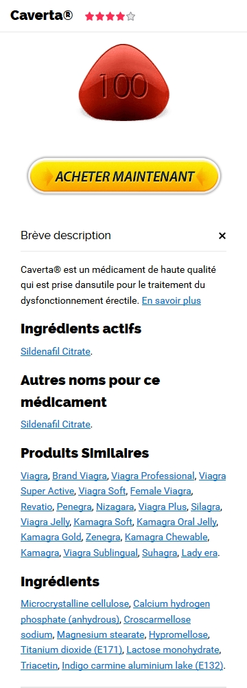 Prix Du Caverta 100 mg