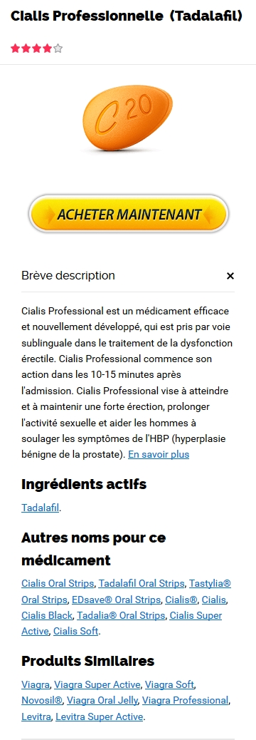 Professional Cialis 20 mg Generique Pharmacie