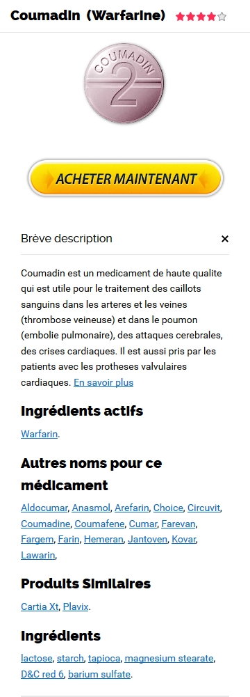 Generique Warfarin