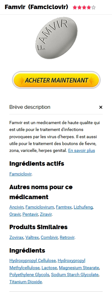 Pharmacie Famvir 500 mg
