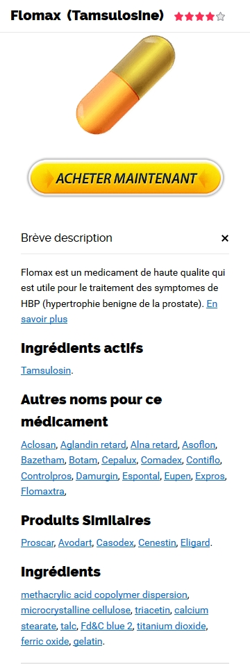 Flomax 0.4 mg En Pharmacie