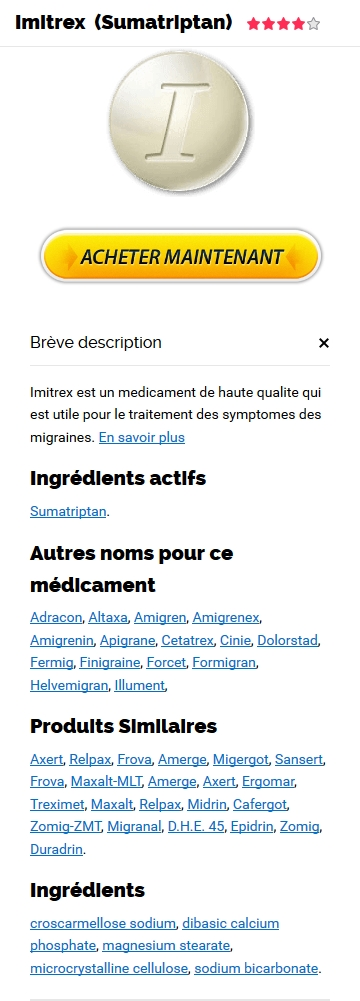 Prix Du Imigran 50 mg En France