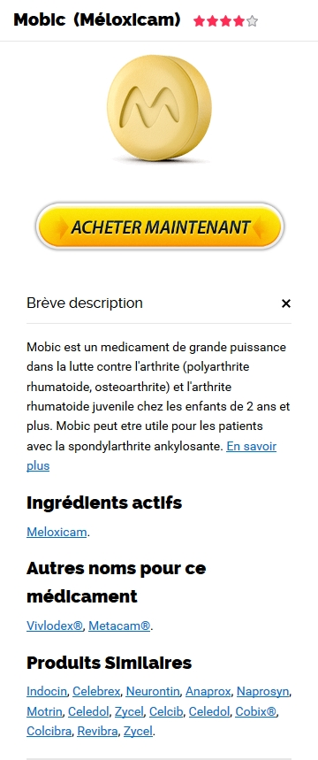 Mobic 7.5 mg Sur Internet