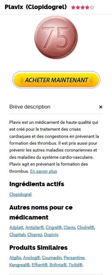 Plavix 75 mg Sur Internet