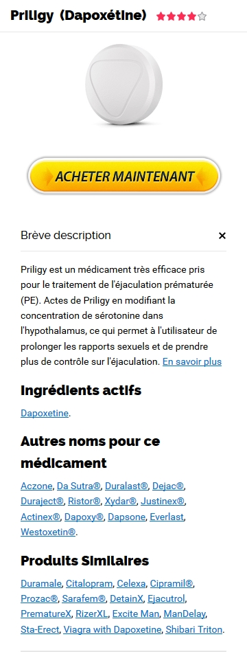 Priligy 60 mg Pas Cher En France