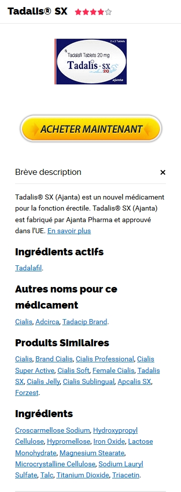 Tadalis 10 mg Pharmacie