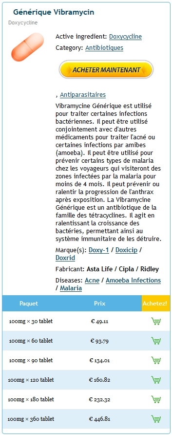Doxycycline Pharmacie En Ligne