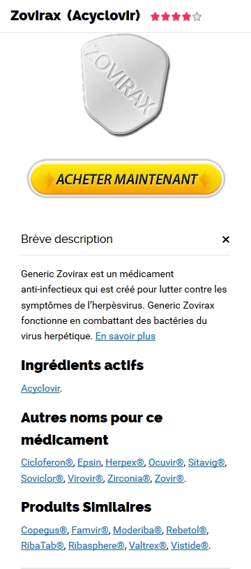 Commander Zovirax 400 mg Generique