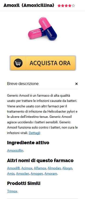 Generico 500 mg Amoxil Ordine in