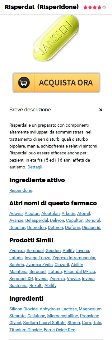 Acquista Risperidone 1 mg Generico In linea in Cottonwood, AL