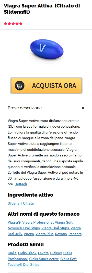 Generico Viagra Super Active Sildenafil Citrate Acquista in Terry, MS