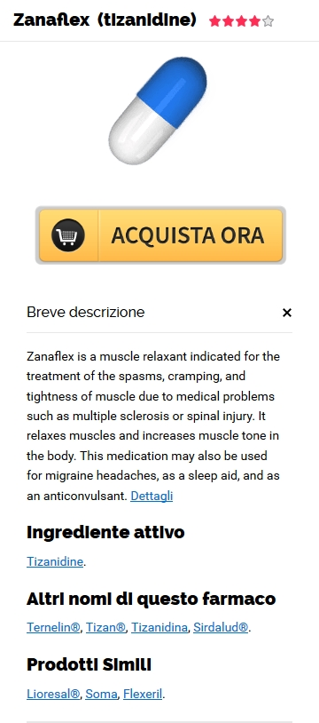 Acquista 4 mg Zanaflex Generico In linea in Port Vue, PA