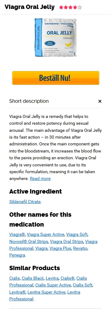 Köpa Viagra Oral Jelly 100 mg Piller