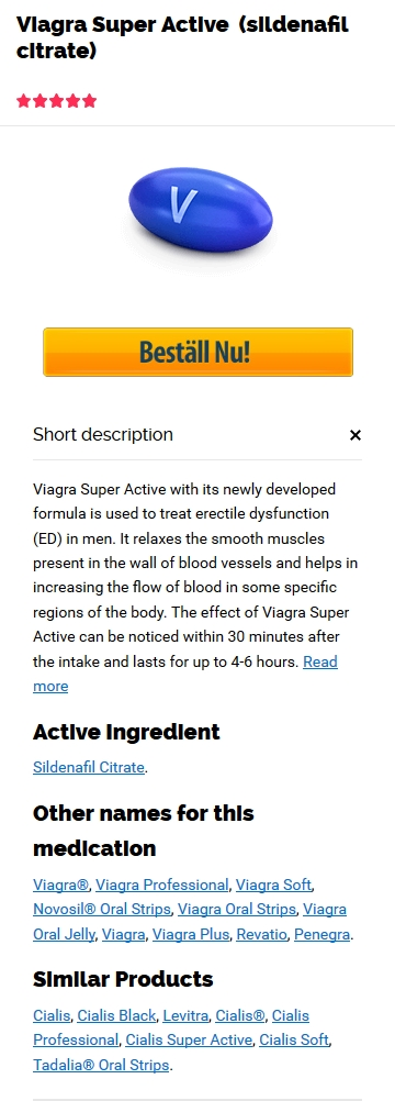 Viagra Super Active 100 mg Billig