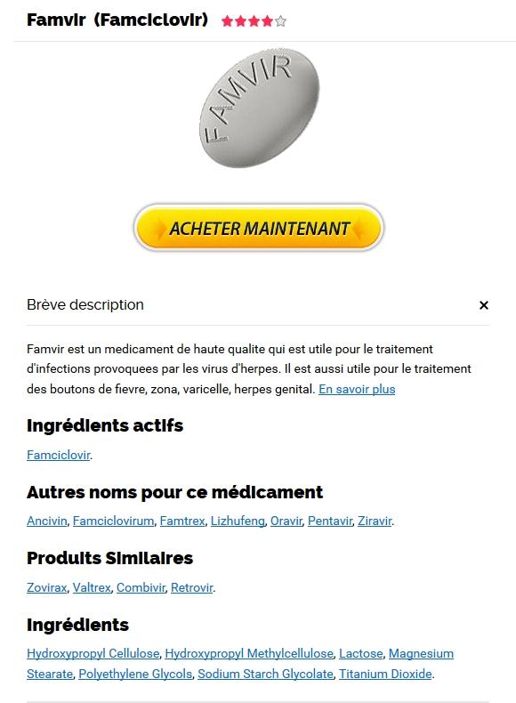 Acheter pharmacie Famvir 250 mg lyon – Pharmacie Pas Cher – Livraison dans le monde (1-3 Jours)