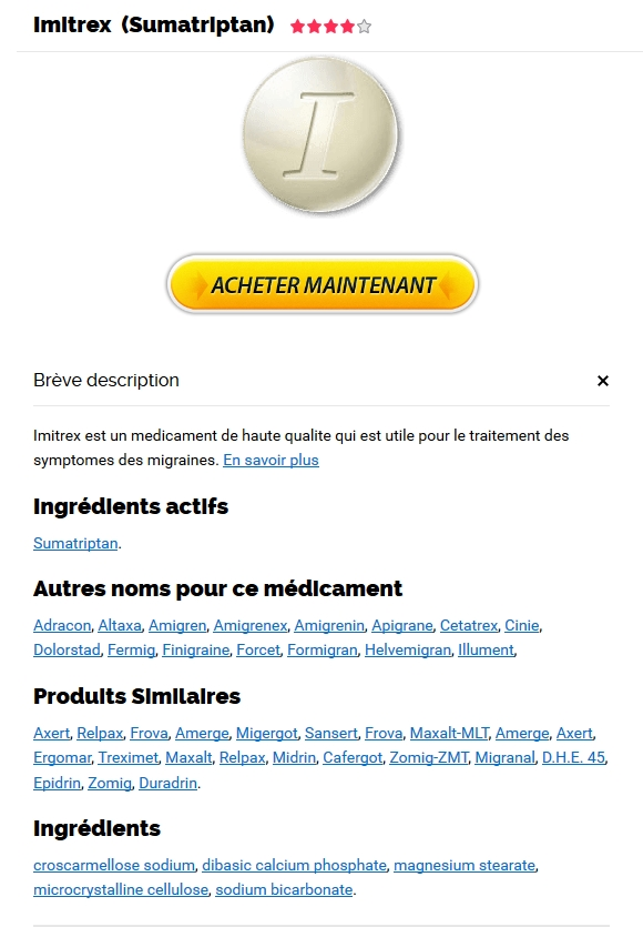 Vente par correspondance Imitrex 50 mg générique in White Cloud, MI