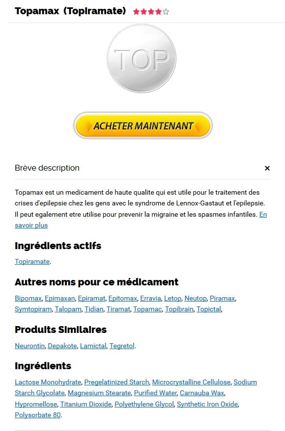 Topamax comprimé générique sans ordonnance – Meds À Bas Prix