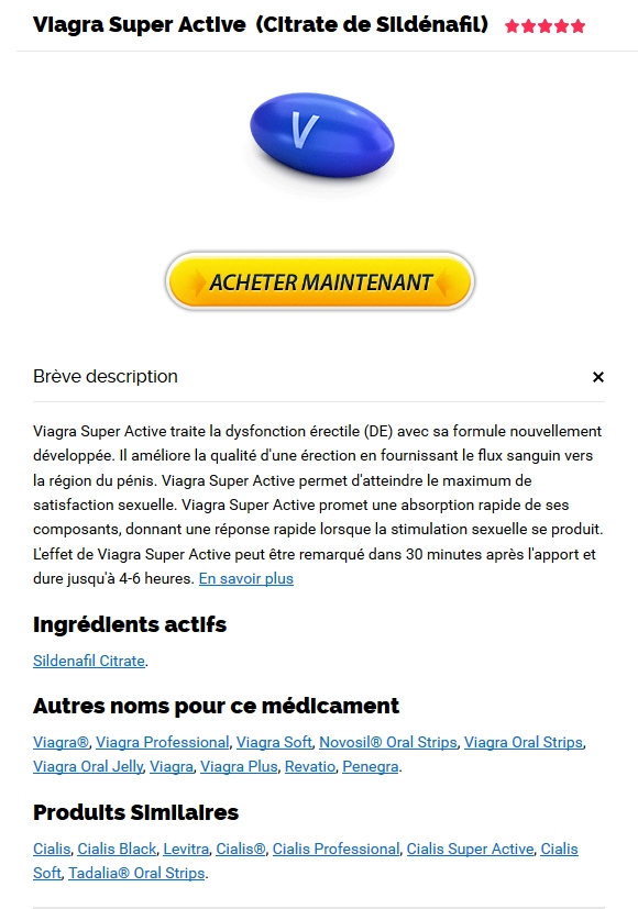 Générique des médicaments Viagra Super Active 100 mg in Stickney, IL