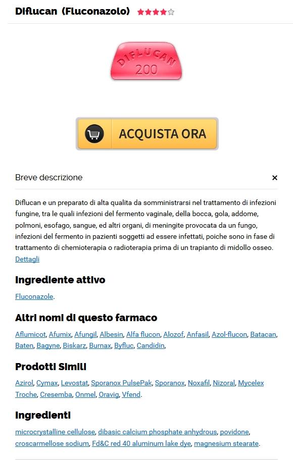 Canadian Pharmacy Sconto Sanità * Sconto Diflucan 150 mg generico