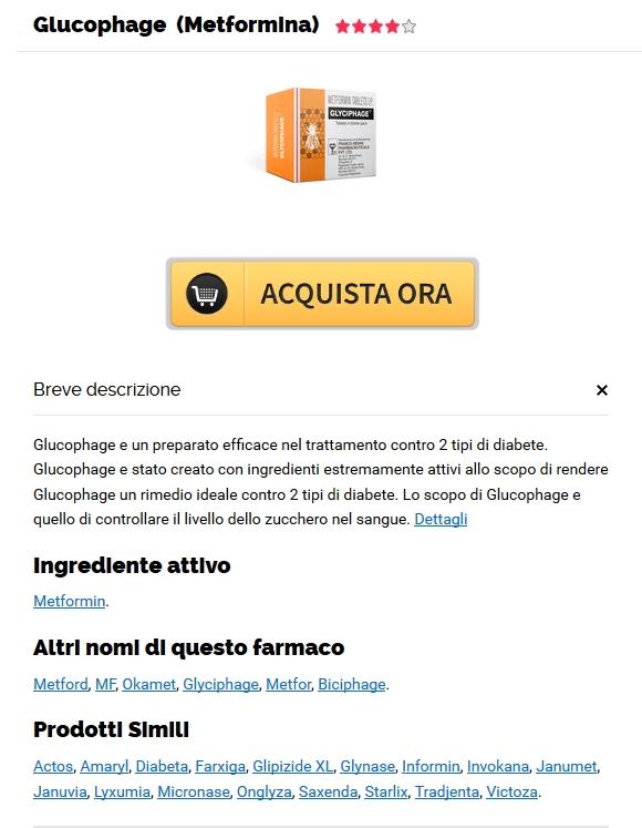 Glucophage Prezzo Per Pillola