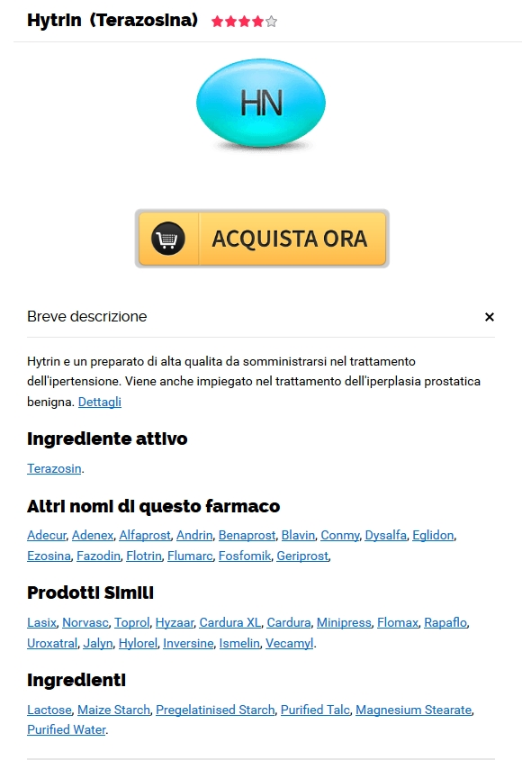 Ottenere Una Prescrizione Di Terazosin * No Prescription Online Pharmacy hytrin