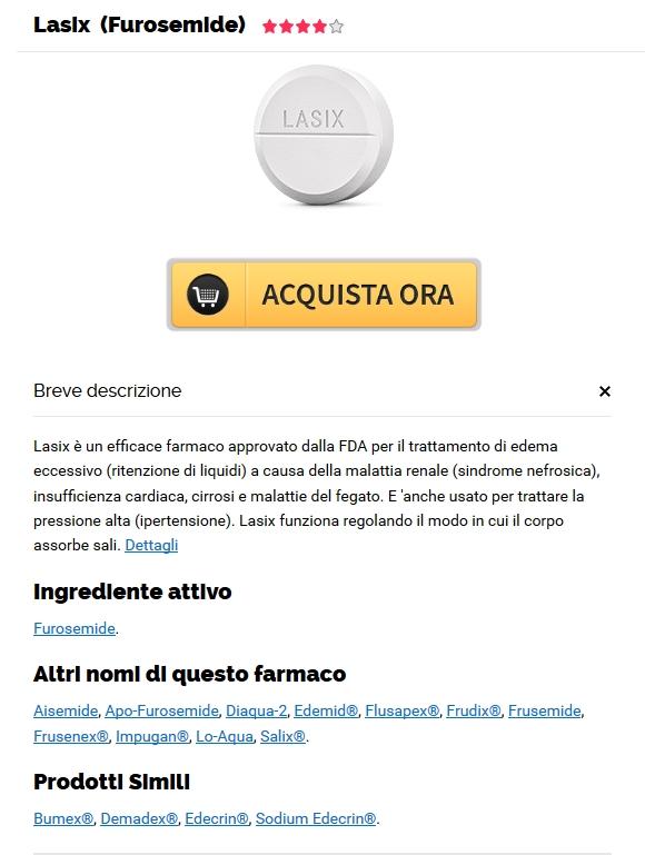 Fda Approvato Pharmacy – Dove acquistare Furosemide senza ricetta