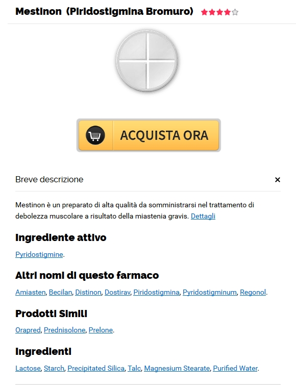 Ordine di pillole di marca Mestinon 60 mg – I farmaci più economici in linea