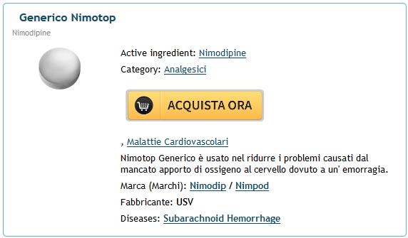 Nimodipine In Vendita Online. Generic Pharmacy