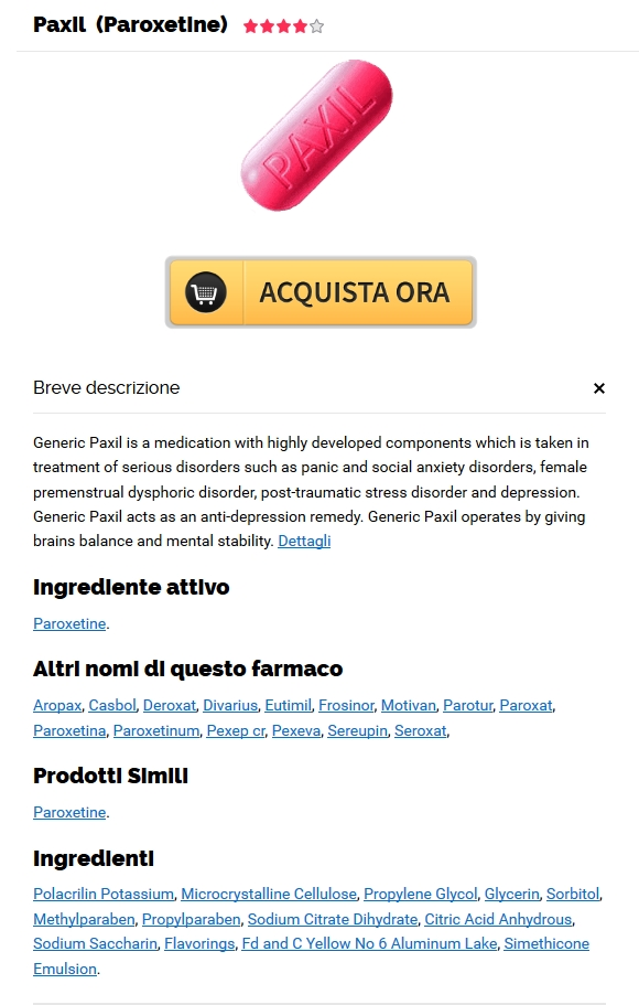 Best Canadian Online Pharmacy * Paxil 10 mg Online Senza Ricetta * Trasporto veloce universalmente