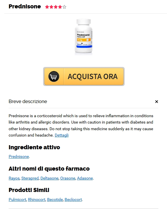 Approvato Canadian Pharmacy * Compra online Prednisone 40 mg genuino