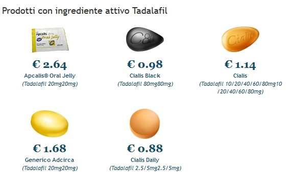 Apcalis jelly A Buon Mercato Firenze