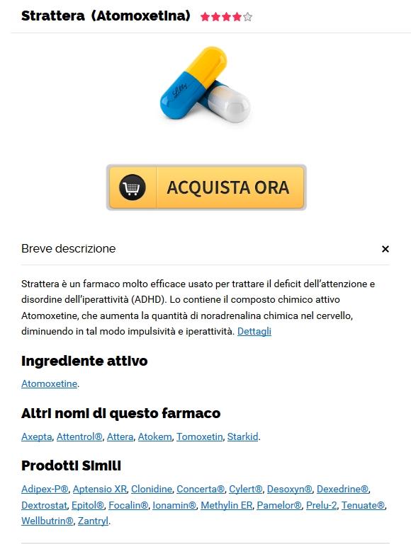 Puoi comprare Atomoxetine senza prescrizione medica :: Spedizione gratuita