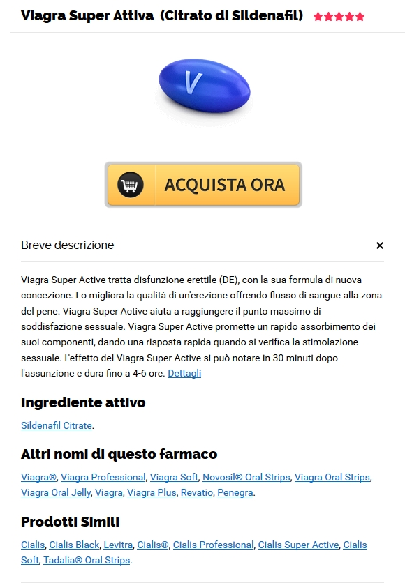 Ordine di pillole Viagra Super Active # 1 Farmacia online